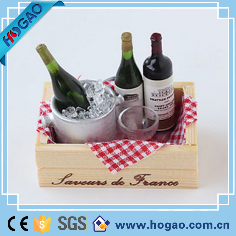 Kitchen supplies the winebottle shape custom 3d fridge magnets,resin magnet,souvenir magnets