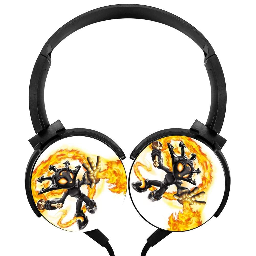 Xerjij Skylanders Wired Stereo Headset Bass Headphones for Computers Mobile Devices