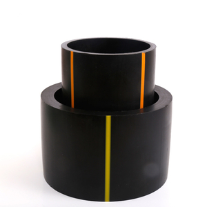 high quality China supplier Best Price Drain Waste Water Bend Fitting Black Flexible PE Plastic HDPE Pipe