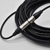 Microphone audio cable cannon cable plug female male XLR connector 3 pin