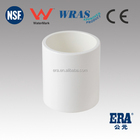 ERA brand PVC coupling for pipe connect AS/NZS 1477 with WaterMark Certificate