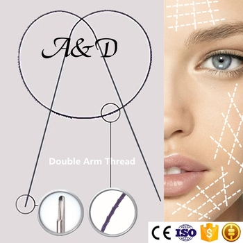 2019 Pdo Thread Lift Double Tipped Needle With Barb For Wrinkle Lifting -  Buy Pdo Thread,Pdo Thread Lift Double Tipped,Pdo Thread Lift Double Tipped