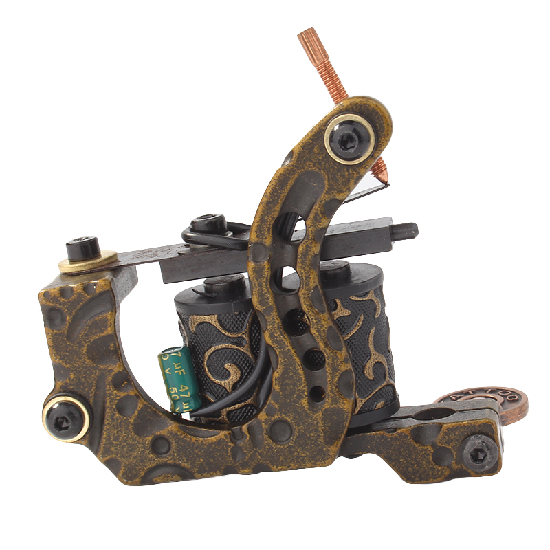 Yilong Popular Design Professional Steel Tattoo Coil Machines  Coils Tattoo Making Machines