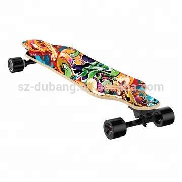 7ply canadian maple e board skateboard Custom e longboard