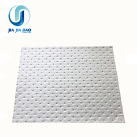 300gsm melt blown White 100% pp polypropylene oil absorbent pads