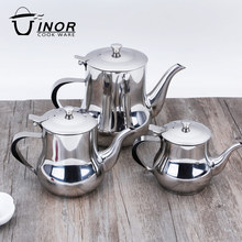 hot selling kitchen oil containers stainless steel oil pots with handle