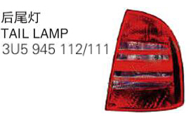 OEM 3U5 945 112/111 FOR SKODA SUPERB 02' Auto Car tail lamp tail light
