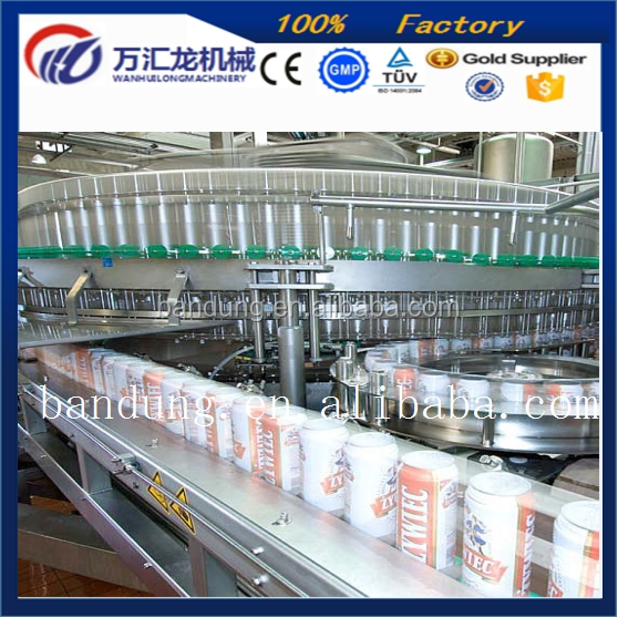 Customized easy cleaning Soda can Plastic water bag filling sealing machine