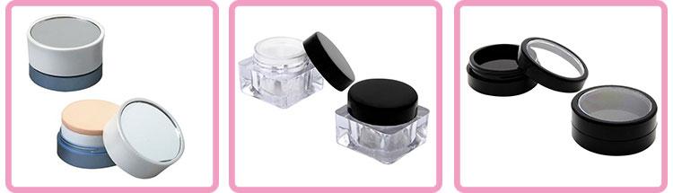 5g 10g 20 30g 50g kosmetische gesichtscreme glas / loses pulverglas moderne glasdose kosmetische verpackung