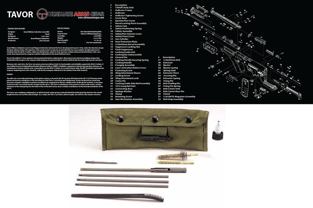 Buy Ultimate Arms Gear Gunsmith U0026 Armorers Cleaning Work Manual Guide