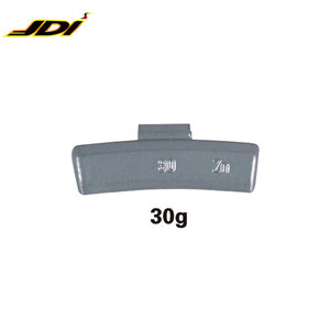 Professional wholesale of wheel weight 30g Zn clip on balance weight