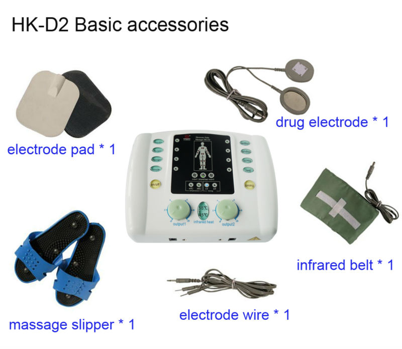 Physical therapy equipment low frequency electric stimulation machine for pain treatment