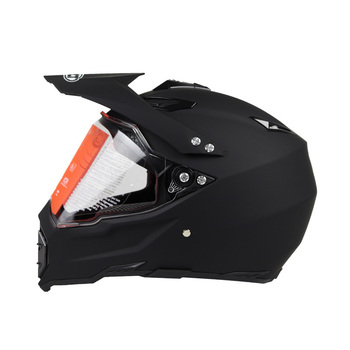 Dirt Bike Helmet With Visor >> Dot Approved Motocross Helmet With Shield Dirt Bike Moto Cross