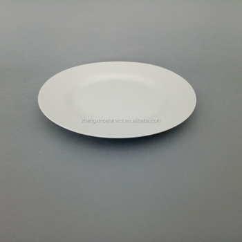 Restaurant white ceramic dinner round plate for daily use and wedding & Restaurant White Ceramic Dinner Round Plate For Daily Use And ...