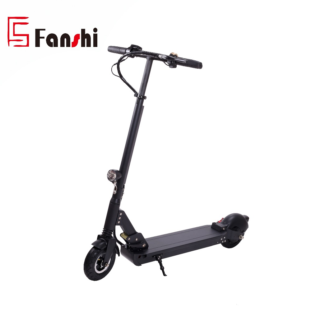 8inch Aluminium Alloy Frame 2 Wheel Standing Lithium Battery Foldable Electric Scooter 2018 for adults