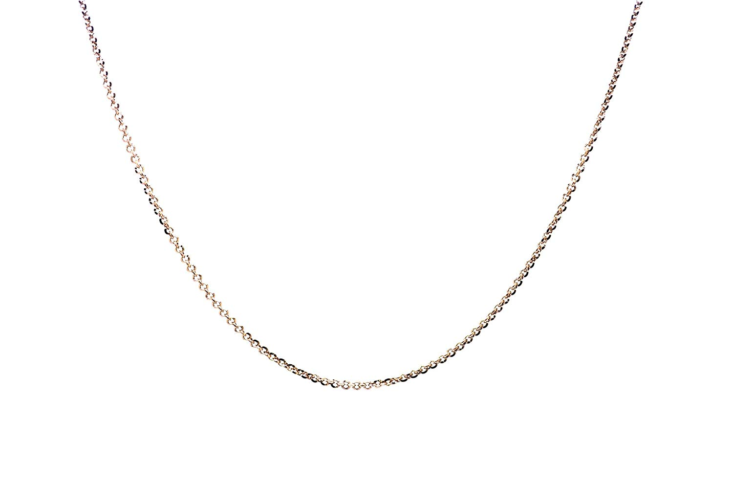 """STRONG 2/""""-9ct Yellow Gold Belcher Safety Chain  Extender Necklace Bracelet .375"""