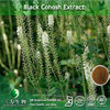 100% natural actaea racemosa extract 2.5%~8.0% Triterpene Glycosides, black cohosh powder from GMP manufacturer