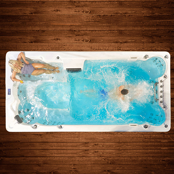 Living Hot Tubs Underground Fitness Exercise Pool And Spa