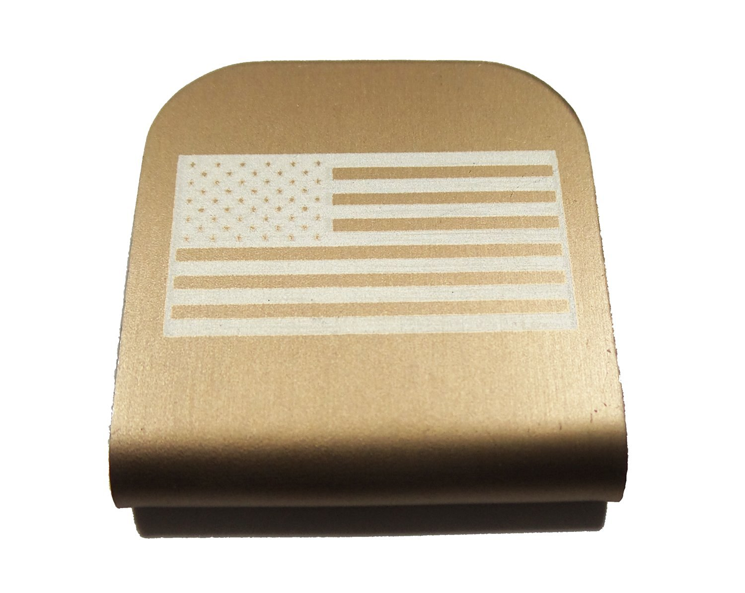 1222133e762 Get Quotations · American Flag USA Morale Tags Hat Clip for Tactical Patch  Caps