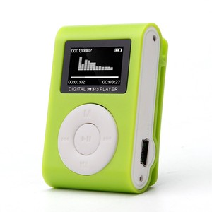 Mini USB Clip MP3 Player LCD Screen Support 32GB Micro S D TF Card