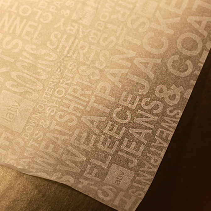उच्च गुणवत्ता थोक कस्टम पर्यावरण मुद्रित लोगो लपेटकर टिशू पेपर