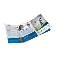 Custom commercial advertising flyer color print,cheap flyer,brochure printing service