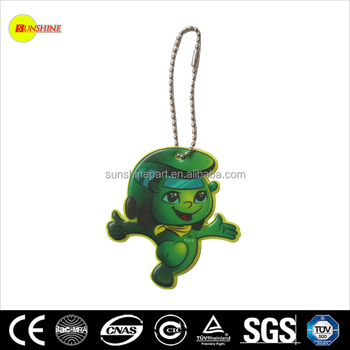 Adult Green Reflective Keychain