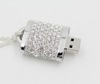 Metal Crystal model USB 2.0 Memory Stick Flash pen Drive 4GB 8GB