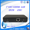 1GE GEPON ONU EPON ONU Fiber Optic Node with Cortina Chipset fully Compatible with Huawei/ZTE OLT Made in China