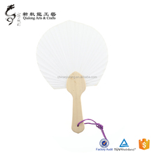 Custom wooden handicraft Special fashion Palace Hand Fan