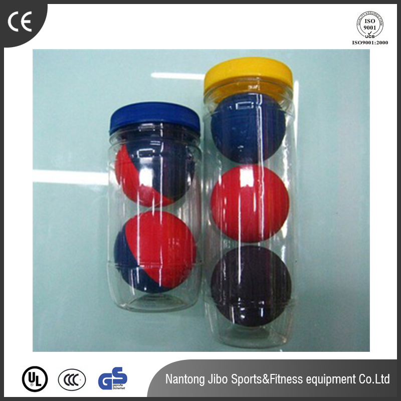 2017 hot selling hollow bouncing ball 60mm squash many color for sale