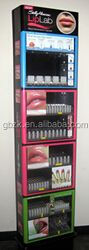supermaket promotion stand integrated 8 inch lcd screen on top