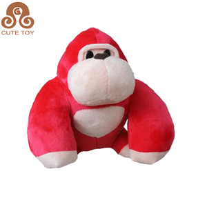 Christmas Toy Factory Wholesale Cute Plush Red Monkey Toy