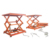 ISO 9001 approved hydraulic scissor car cargo lift table