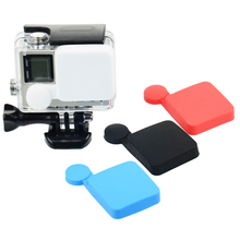 Gopro Accessories Silicon Cover For Waterproof Case Silicone Protective Lens For Gopro hero3+/4 Sports Camera Accessories