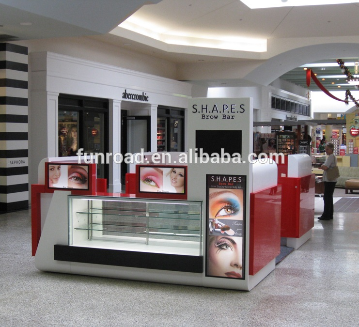 Beauty salon eyebrow threading kiosk with mirrors and led lights buy beauty salon eyebrow threading kiosk with mirrors and led lightseyebrow threading