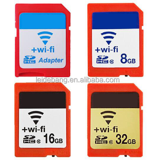 wholesale OEM wifi sd memory card 8GB