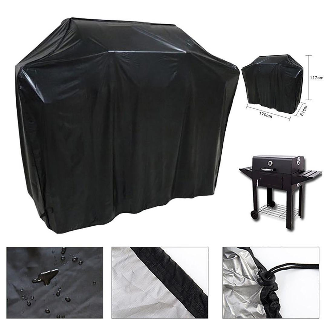 "Extra Large Heavy Duty 57"" Waterproof BBQ Cover Gas Barbecue Grill Protection Outdoor by Dressffe"