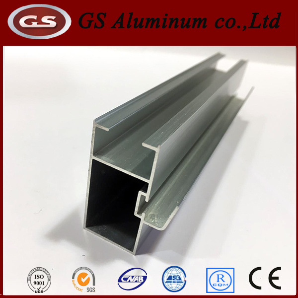 Different Surface Treatment Motorhome Rv Aluminum Door Frame Extrusion