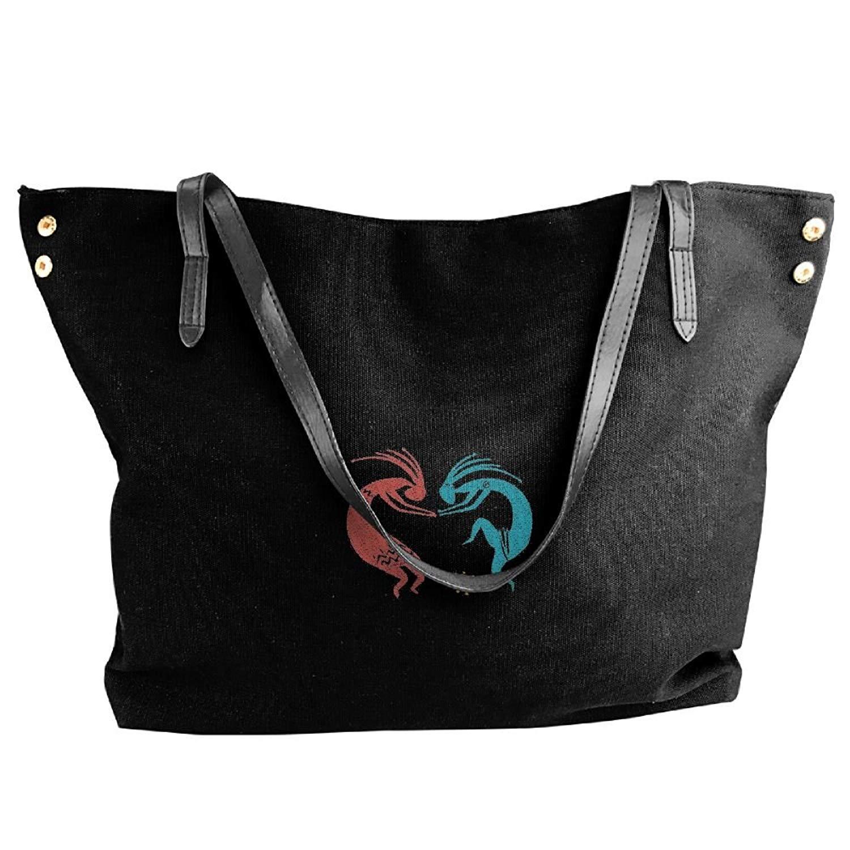 cef098c4e8 Get Quotations · Dance-Indian Women Handbags Hobo Shoulder Bags Tote Canvas  Handbags Fashion Large Capacity Bags Black