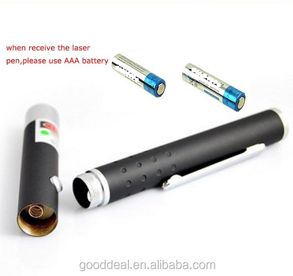 5mW 532nm Star Effect Caps 5 Laser Heads Green 5 In 1 Battery Operated Laser Pointer Pen