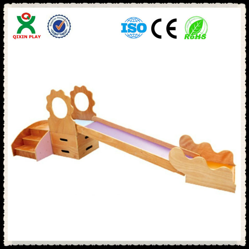 Newest indoor wooden playground for toddler/wooden playground for ...