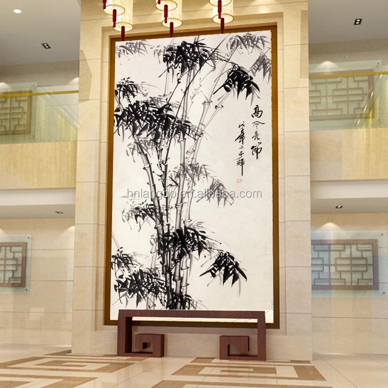papier peint en vinyle couloir d 39 entr e moderne chinois. Black Bedroom Furniture Sets. Home Design Ideas