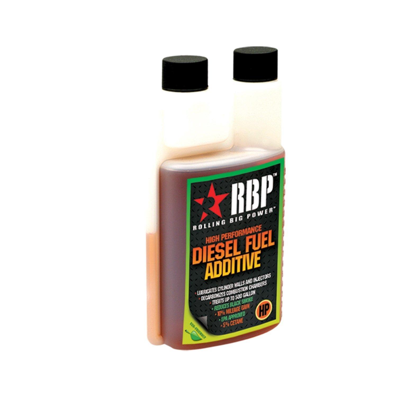 RBP Performance RBP-80001HP High Performance Diesel Fuel Additive For Diesel Vehicles Only w/Cetane 16 oz. Treats Up To 500 Gallons High Performance Diesel Fuel Additive