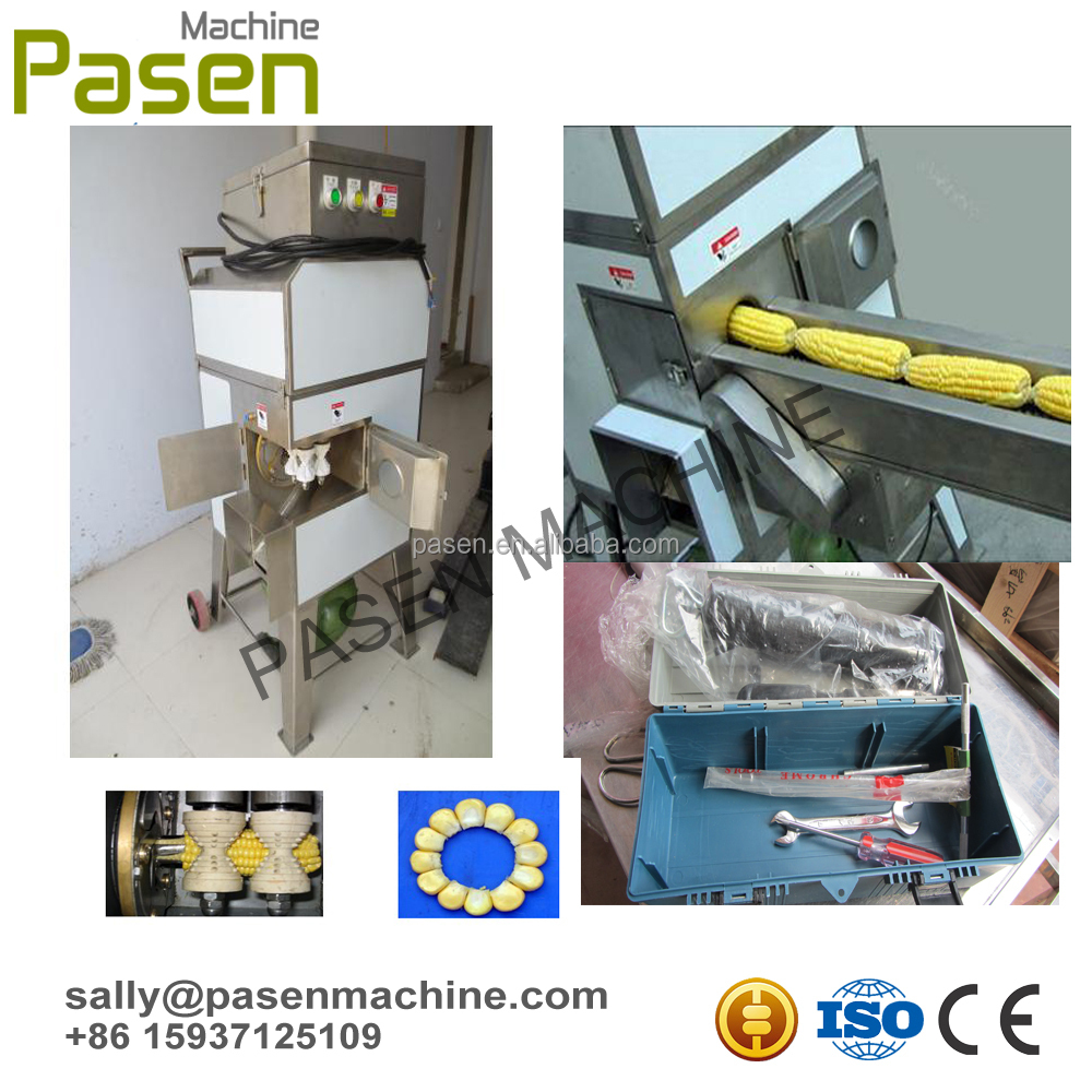 Commercial sweet corn maize sheller machine