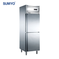 Commercial single-temperature stand up deep freezer upright refrigerator for sale