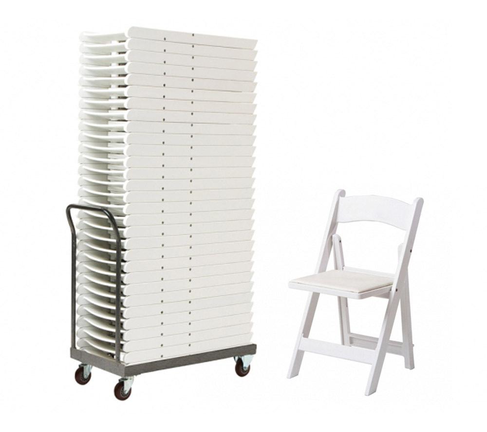 luxury white resin folding chair wholesale plastic folding chair