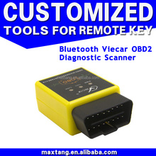 Viecar Elm327 V1.5 Bluetooth 2.0 Low Power Consumption OBD Scan ELM 327 New OBDII Diagnostic Tool Works On Android EM017