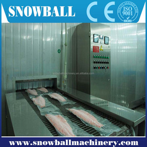 CE approved icecream freezer/tunnel type