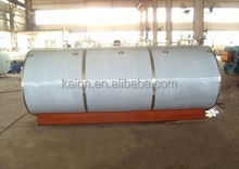 stainless steel fresh milk transport tank